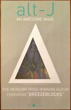 ALT-J An Awesome Wave Ltd Ed Discontinued RARE New Poster! All This Is Yours