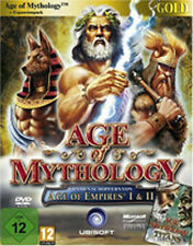 Age OF MYTHOLOGIE GOLD édition principale jeu + titans extension pc allemand article neuf