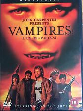Jon Bon Jovi VAMPIRES - LOS MUERTOS ~ Sequel to John Carpenter Horror | UK DVD