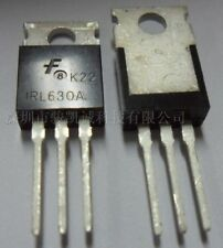 5 pcs FAIRCHIL IRL630A TO-220 200V N-Channel Power