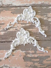SHABBY & CHIC  FURNITURE APPLIQUES ONLAYS DECORATIVE MOULDINGS AND MORE!