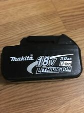 (1) Genuine Makita BL1830 18Volt Lithium Ion Battery Pack 3.0 AH
