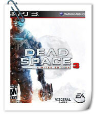 FREE GIFT! PS3 DEAD SPACE 3 Sony Playstation Electronic Arts Shooting Games