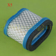 5x Air Filter Fit BRIGGS STRATTON 498596 690610 697029 5.5 & 6.5 HP Engines