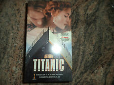 RARE VHS BOX SET TITANIC  PART ONE AND TWO
