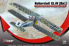 HALBERSTADT CL.IV ROL. (ROLAND) - WW I KAIZERLICHE LUFTWAFFE MKGS 1/48 MIRAGE