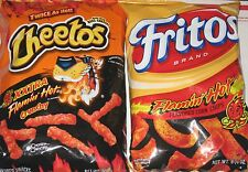 Cheetos & Fritos for Lovers For Xxtra Hot Cheesy & Hot Corny Hot Lovers