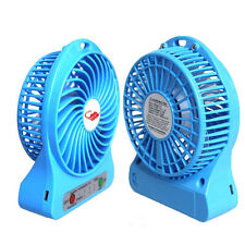4 Inch Multi Functional Rechargeable Fan USB Mini Fan Portable With 3 Speed Mode
