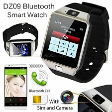 SMARTWATCH dz09 per Sony + Samsung + + IOS ANDROID-SILVER Wireless Bluetooth
