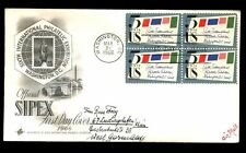 USA 1966 Sipex Philatelic Exhibition FDC #C7449