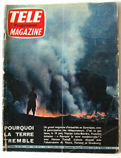 TELE MAGAZINE du 06/1960; Haroun Tazieff/ Ivanhoé/ Pagnol-Fernandel/ Chita