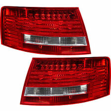 LED Rear Light Tail Light Set For Audi A6 4F C6 Built 04-08 only Saloon