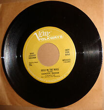 RAMONA PARISH Little Black Pussy Cat / Hole In The Wall 45 RPM Promo MGM KF5052