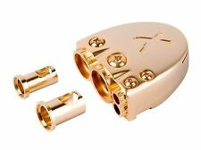 New Scorpion Battery Terminal Gold Car Audio High Power 0 2 4 8 Gauge
