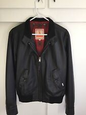 BARACUTA G9 MOD LEATHER JACKET
