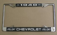 48 1948 Chevy car truck Chrome license plate frame