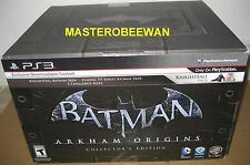 Batman: Arkham Origins Collector's Edition New Sealed (Sony PlayStation 3, 2013)