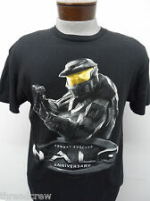 HALO ANNIVERSARY MASTER CHIEF COMBAT EVOLVED XBOX FAN T-SHIRT sz M mensS/S#262