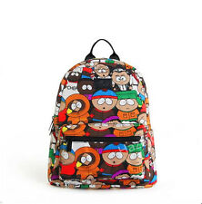 South Park Graffiti Cartoon Patterned Sacs à dos en toile Sac Voyage Mignon