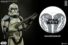 Sideshow Star Wars WOLFPACK 104th BATTALION Exclusive Clone Trooper Figure