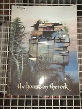 1988 THE HOUSE ON THE ROCK ALEX JORDAN PHOTO BOOK PAPERBACK ARCHITECTURE (WL25)