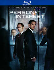 Person of Interest The Complete Second Season (Blu-ray Disc, 2014, 4-Disc Set)