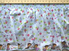 Pre-Smocked Dora the Explorer Boots Shirred Sundress Fabric Print D785.02
