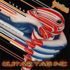 Judas Priest Guitar & Bass Tab TURBO Lessons on Disc