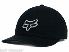 FOX RACING CARRYOVER RELAXED FIT ADJUSTABLE HAT/CAP - OSFM - BLACK