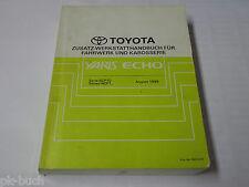 Werkstatthandbuch Toyota Yaris / Echo Karosserie / Fahrwerk etc. Stand 08/1999