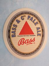 Beer Bar Coaster ~*~ BASS Brewers & Co Ltd Pale Ale ~*~ Burton On Trent, ENGLAND