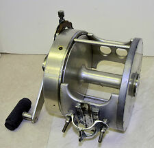 Vintage FIN-NOR 15/0 pre-1950 giant Deep-sea game fishing reel.  Legacy period !