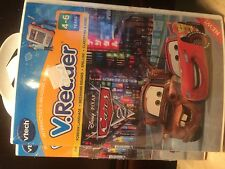 Vtech V Reader Interactive E-Reader System Disney Cars New