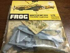 frog 1/72 f225f macchi mc 202 folgore lightning  model aircraft kit sealed