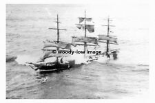 rp6408 - Sailing Ship Irex wrecked 1890 , Isle of Wight - photo 6x4