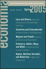 Economia: Spring 2005: Journal of the Latin American and Caribbean Economic Asso