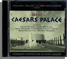 Live at Caesars Palace - New Historic Recordings CD! Sinatra, Sammy, Lena, Keely