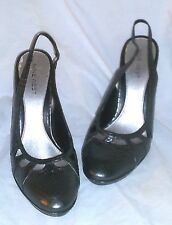 NINEWEST SHOES GREY  LEATHER SNAKESKIN TEXTURE PUMPS CUTOUTS SIZE 7.5