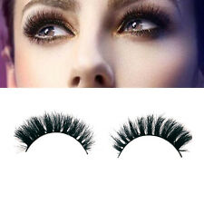 100%Real Horse Hair Natural False Fake Eyelashes Eye Lashes Makeup Extension 012