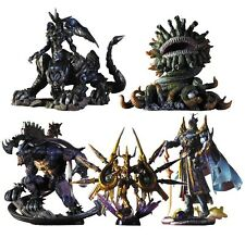 Flawed Box Final Fantasy Creatures Kai Vol. 4 Figures SET of 5 SQUARE-ENIX