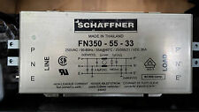 SCHAFFNER FN350-55-33 MOTOR DRIVE SINGLE PHASE EMC FRI FILTER (R5S1.3)(R2S5.2B2)