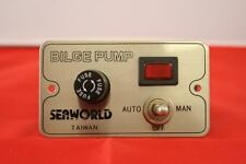 Bilge Pump Control Panel - BRAND NEW, Boat, Yacht, Electrical Systems, switches