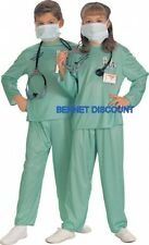 CHILD ER DOCTOR SURGEON HALLOWEEN FANCY COSTUME SMALL
