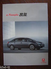 Dongfeng citroen c-triomphe, china, folleto/brochure/depliant, 3.2006