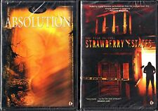 Absolution (DVD, 2003) & Red File 66-095:Strawberry Estates (DVD) NEW