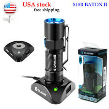 US stock Olight S10R II 500 Lumens Cree XP-L LED Rechargeable Flashlight RCR123A