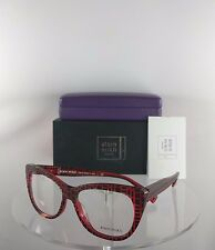 New Authentic Alain Mikli A0 1346M B0H9 Eyeglasses A01346M Colorblend Red Frame