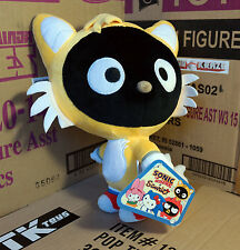 Sonic the hedgehog x Sanrio Chococat Tails 10-Inch Plush: SEGA meets Sanrio