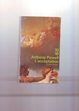 livre :  l'acceptation - anthony powell - traduit par villoteau -