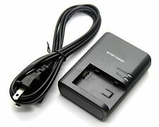 Battery Charger for CANON LEGRIA FS46 FS200 FS300 FS305 FS306 FS307 FS400 FS405